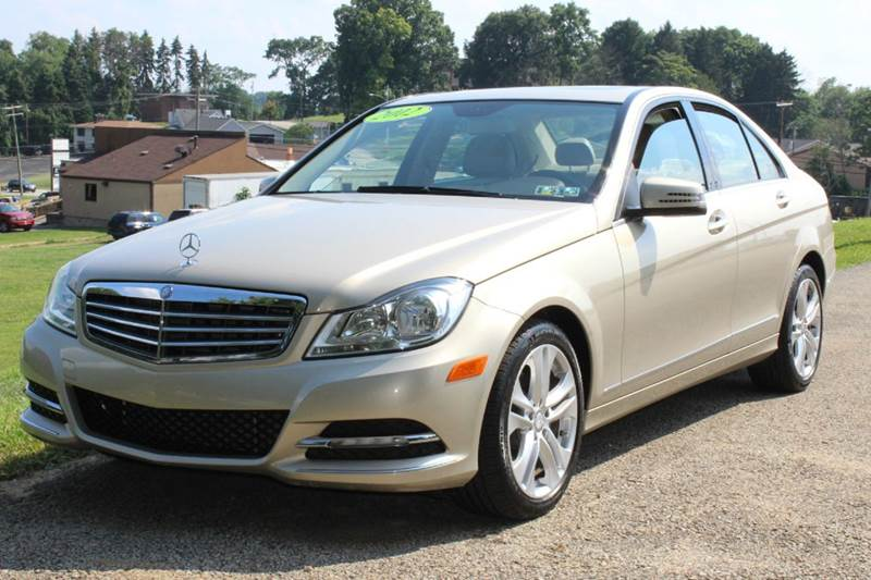 2012 mercedes benz c class awd c 300 luxury 4matic 4dr sedan in irwin pa harrison auto sales. Black Bedroom Furniture Sets. Home Design Ideas