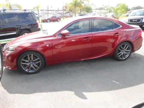 2014 Lexus IS 350 for sale in Mcallen, TX