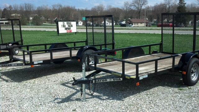 2012 Gatormade Utility Trailer 10ft.