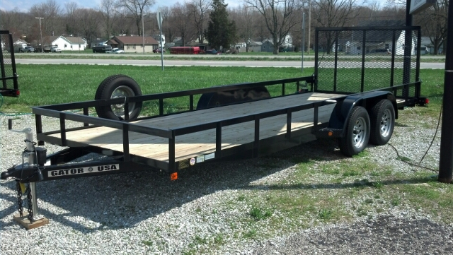 2013 Gatormade Utility Trailer 20ft.