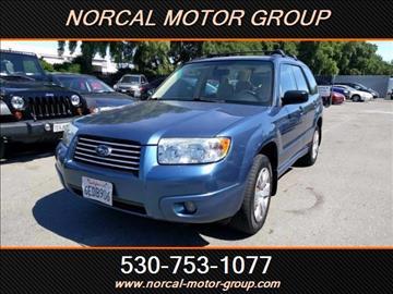 2008 Subaru Forester for sale in Davis, CA