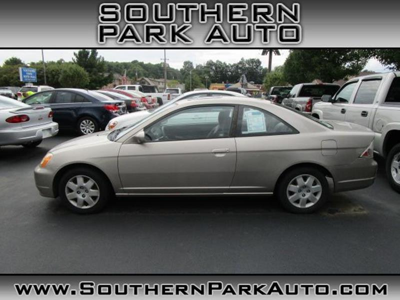 2002 honda civic ex 2dr coupe w side airbags in boardman for Honda boardman ohio