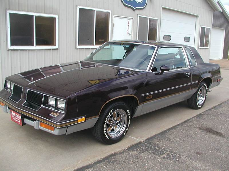 1986 oldsmobile cutlass salon 442 2dr coupe in rice lake for 1986 oldsmobile cutlass salon