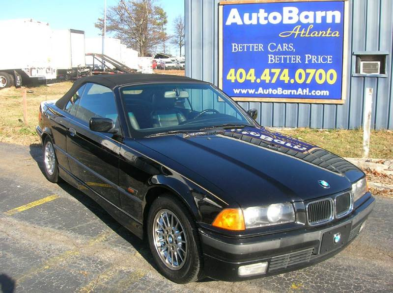 1996 bmw 3 series 328i 2dr convertible in marietta ga. Black Bedroom Furniture Sets. Home Design Ideas