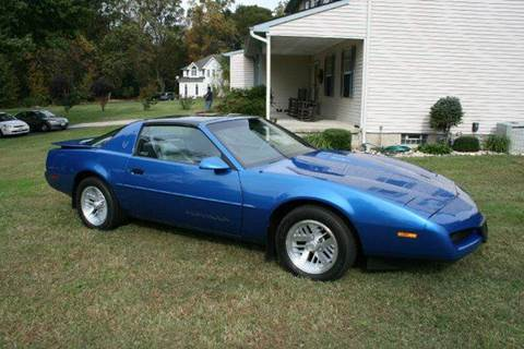 1991 Pontiac Firebird For Sale  Carsforsalecom