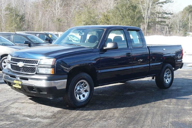 2007 chevrolet silverado 1500 classic work truck 4dr extended cab 4wd 6 5 ft sb in lewiston me. Black Bedroom Furniture Sets. Home Design Ideas