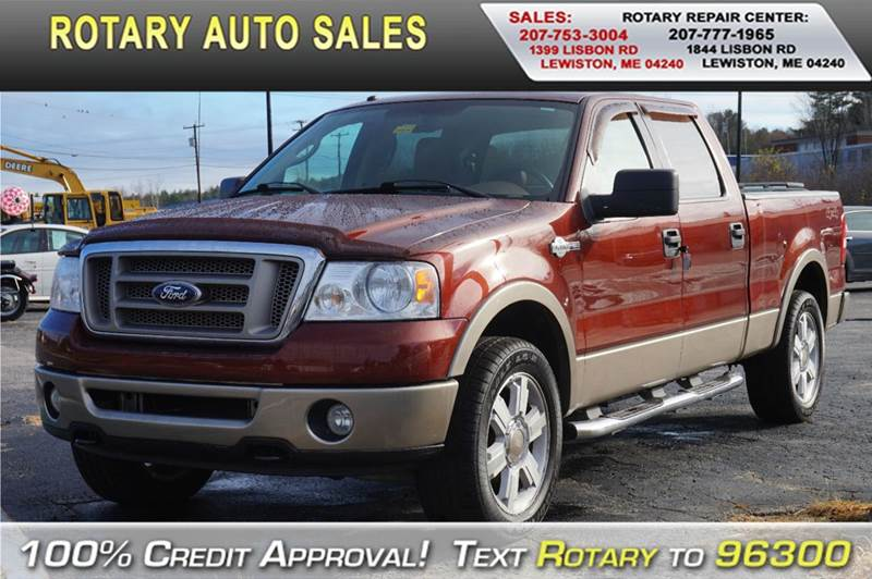 2006 ford f 150 king ranch 4dr supercrew 4wd styleside 6 5 ft lb in lewiston me rotary auto sales. Black Bedroom Furniture Sets. Home Design Ideas