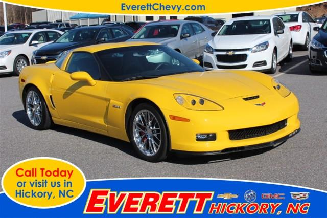 Used 2007 chevrolet corvette in hickory nc at everett for La motors hickory nc