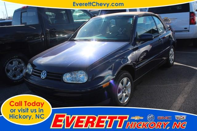 2002 Volkswagen Cabrio for sale in Hickory NC