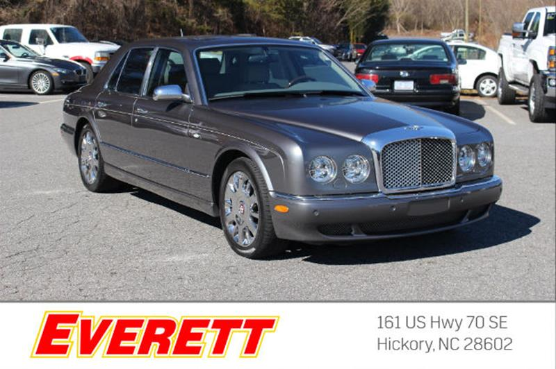 Bentley Arnage For Sale In Souderton Pa Carsforsale
