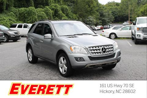 2011 Mercedes-Benz M-Class for sale in Hickory NC