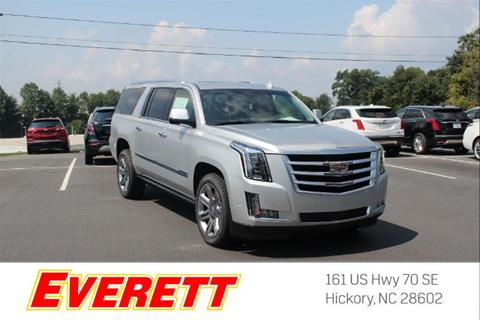 2017 Cadillac Escalade ESV for sale in Hickory, NC