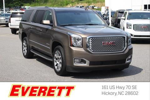 2016 GMC Yukon XL for sale in Hickory, NC