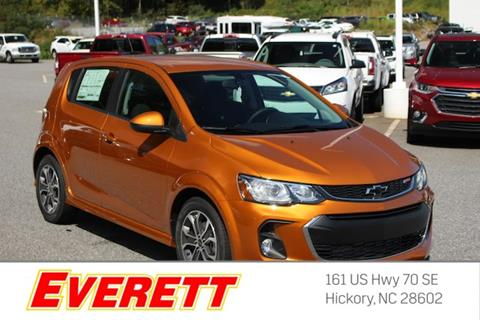 2018 Chevrolet Sonic for sale in Hickory NC