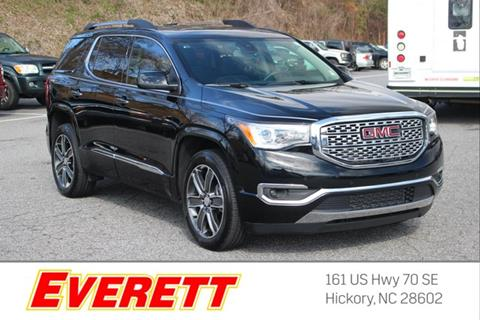 2018 GMC Acadia for sale in Hickory, NC