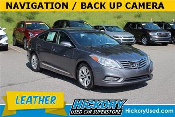 2012 Hyundai Azera for sale in Hickory, NC