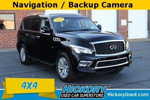 2015 Infiniti QX80 for sale in Hickory, NC