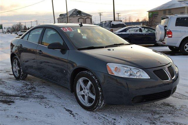 2008 PONTIAC G6 4DR SDN SEDAN dark steel gray metallic this 2008 pontiac g6 4dr 4dr sdn sedan feat