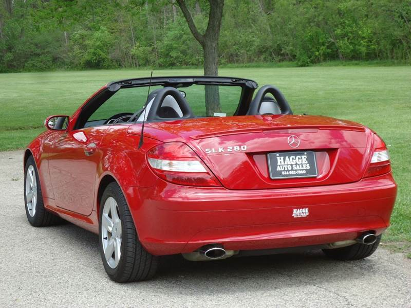 2006 mercedes benz slk slk 280 2dr convertible in columbus oh hagge auto sales. Black Bedroom Furniture Sets. Home Design Ideas
