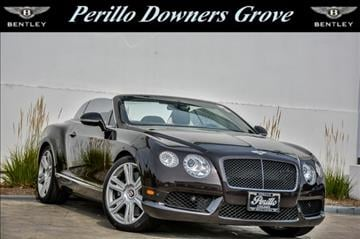 2013 Bentley Continental GTC V8 for sale in Downers Grove, IL