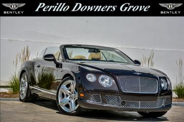 2012 Bentley Continental GTC for sale in Downers Grove, IL
