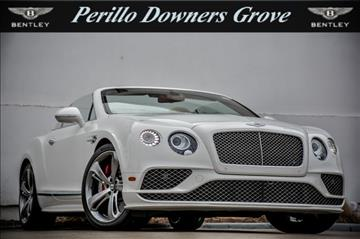 2017 Bentley Continental GTC Speed for sale in Downers Grove, IL