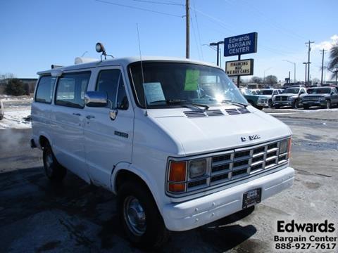 1984 dodge van gas mileage