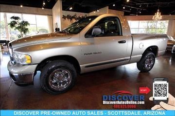 2005 Dodge Ram Pickup 1500 for sale in Scottsdale, AZ