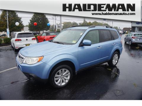 2011 Subaru Forester For Sale In New Jersey Carsforsale Com