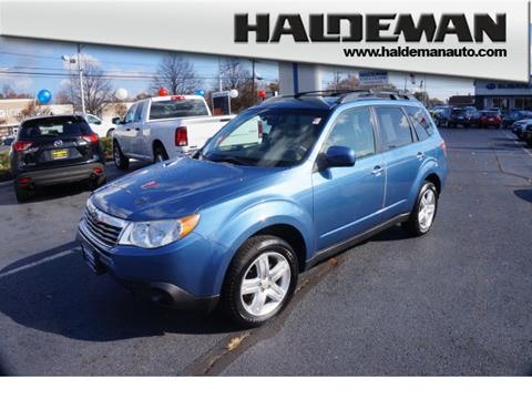 2010 subaru forester for sale in new jersey. Black Bedroom Furniture Sets. Home Design Ideas