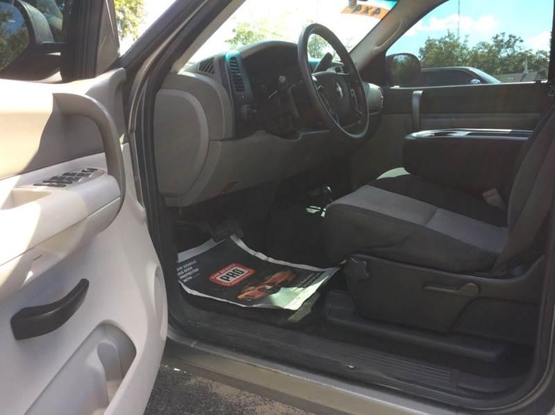 2009 Chevrolet Silverado 1500 Work Truck 4x4 4dr Crew Cab SB - Ocala FL