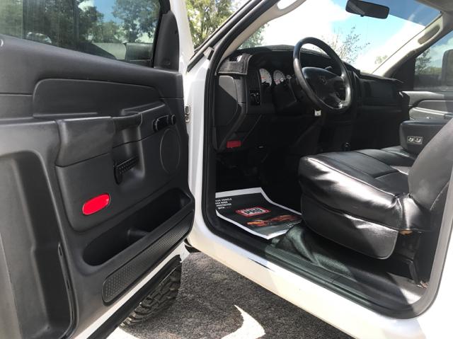 2003 Dodge Ram Pickup 1500 Laramie 2dr Regular Cab 4WD SB - Ocala FL