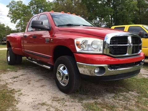 2007 Dodge Ram Pickup 3500 for sale in Ocala, FL