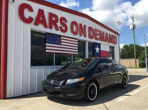 2012 Honda Civic for sale in Pasadena, TX