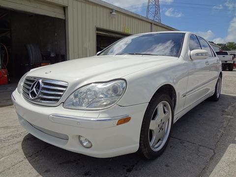 2006 Mercedes-Benz S-Class for sale in Clearwater, FL