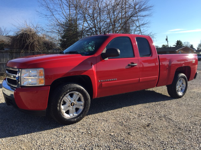 2008 chevrolet silverado 1500 lt1 4wd 4dr extended cab 5 8 ft sb in vienna wv easter brothers. Black Bedroom Furniture Sets. Home Design Ideas
