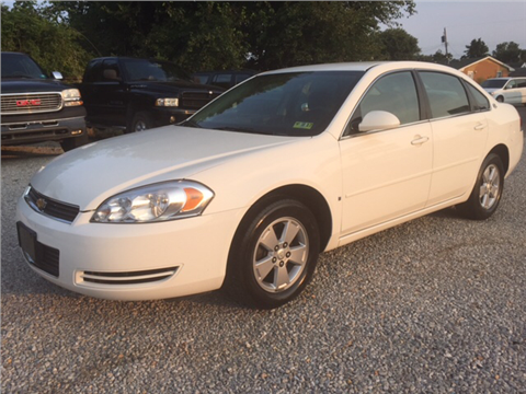 2008 Chevrolet Impala for sale in Vienna, WV