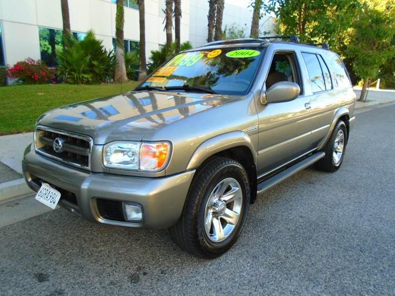 2004 nissan pathfinder le platinum 4dr suv in panorama city ca rodeo motors. Black Bedroom Furniture Sets. Home Design Ideas