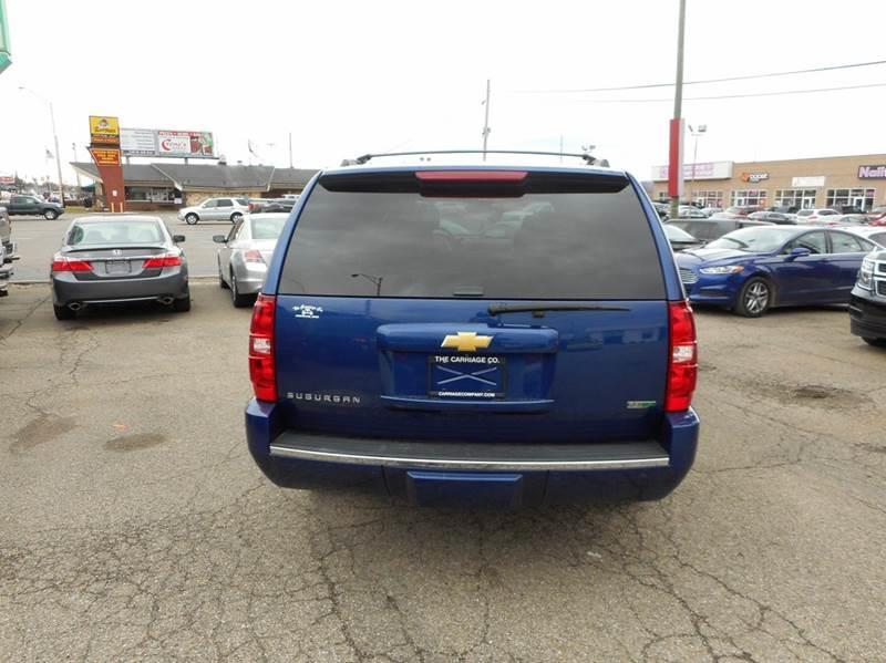 2012 Chevrolet Suburban LTZ 1500 4x4 4dr SUV - Lancaster OH