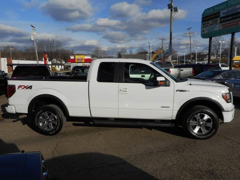 2013 Ford F-150 4x4 FX4 4dr SuperCab Styleside 6.5 ft. SB - Lancaster OH