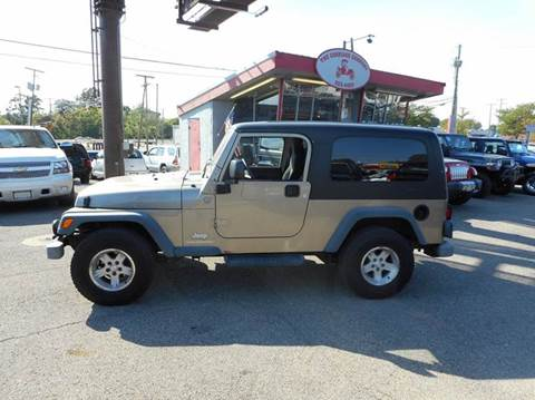 2004 Jeep Wrangler for sale in Lancaster, OH