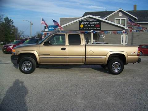2001 GMC Sierra 2500HD for sale in Paulding, OH