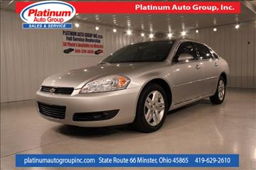 2006 Chevrolet Impala for sale in Minster, OH
