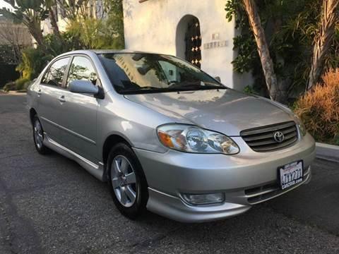 2003 Toyota Corolla for sale in Santa Barbara, CA