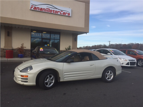 2001 Mitsubishi Eclipse Spyder for sale in Locust Grove, VA
