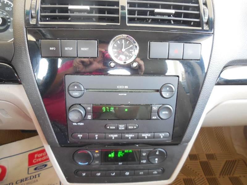 2006 Ford Fusion V6 SEL 4dr Sedan - Cartersville GA
