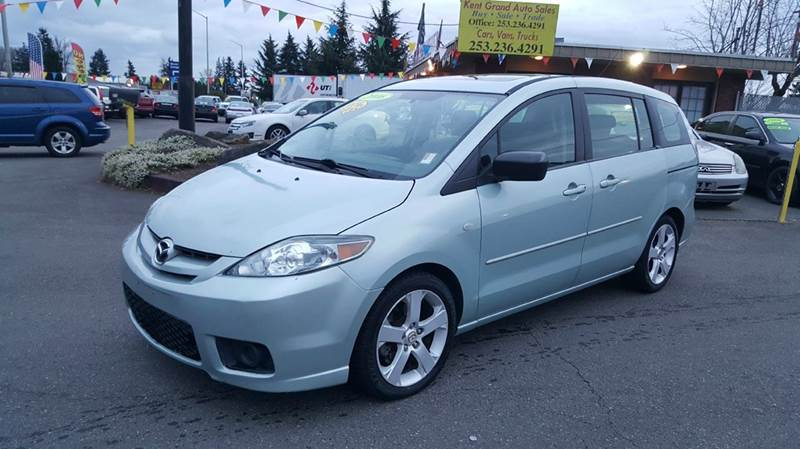 2006 mazda mazda5 sport 4dr mini van in kent wa kent. Black Bedroom Furniture Sets. Home Design Ideas