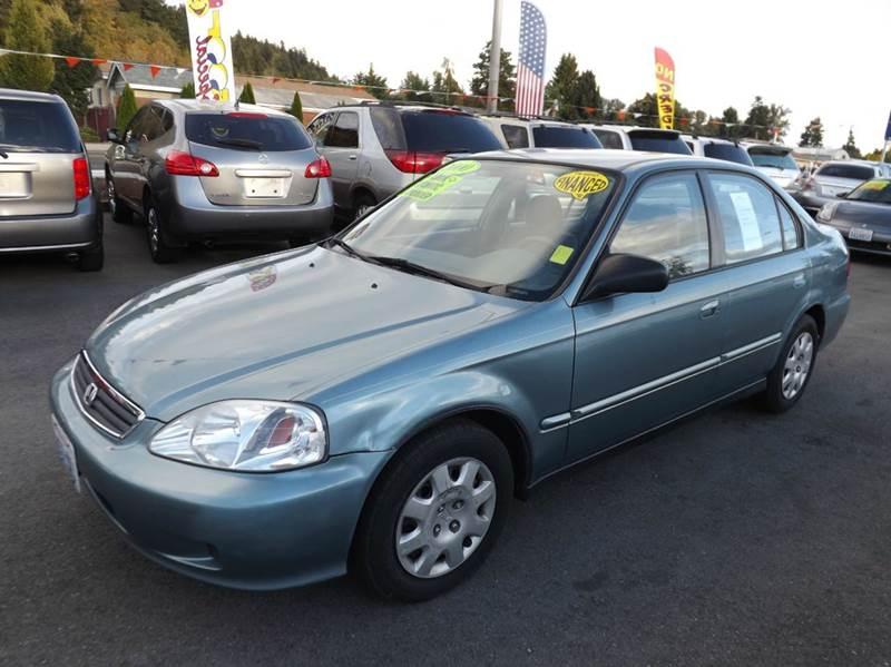 2000 honda civic vp 4dr sedan in kent wa kent grand auto for Honda civic vp