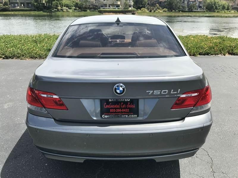 2007 BMW 7 Series 750Li 4dr Sedan - San Mateo CA