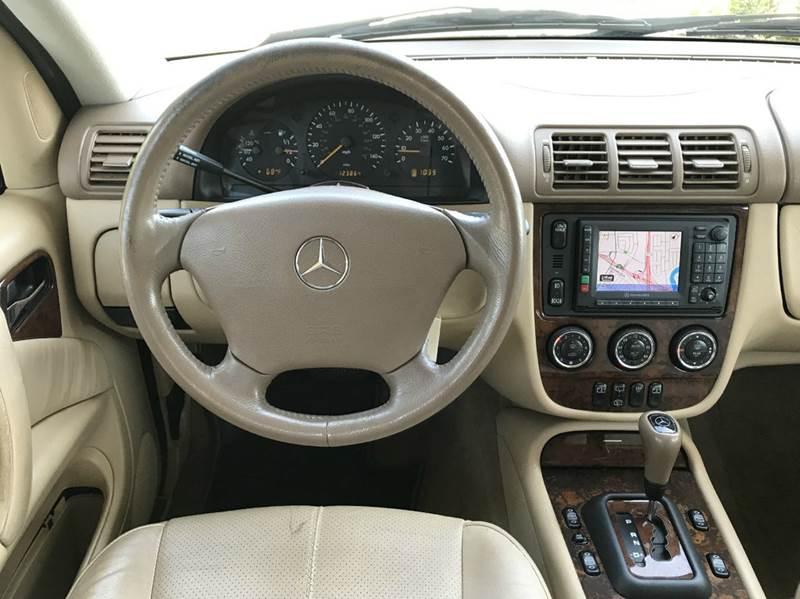2003 Mercedes-Benz M-Class AWD ML 350 4MATIC 4dr SUV - San Mateo CA